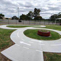 Playground line painting work done